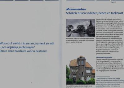 Brochure voor monumenteneigenaren