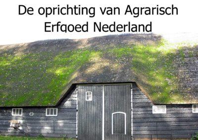 Oprichting Agrarisch Erfgoed Nederland